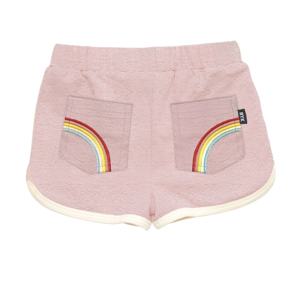Rainbow Terry Shorts