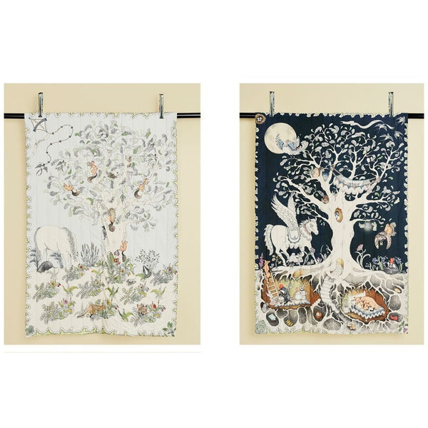 Enchanted Forest Quilted Blanket