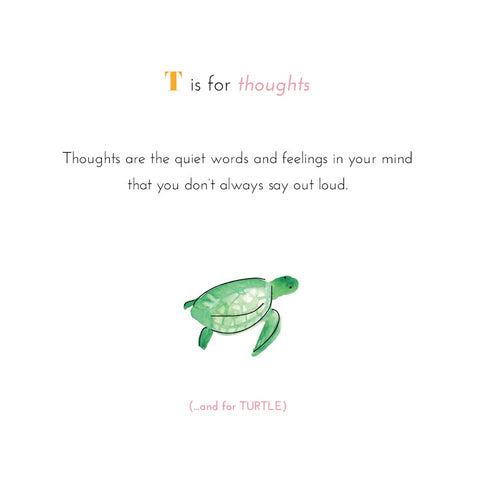 Mindful ABC's Hardcover Book