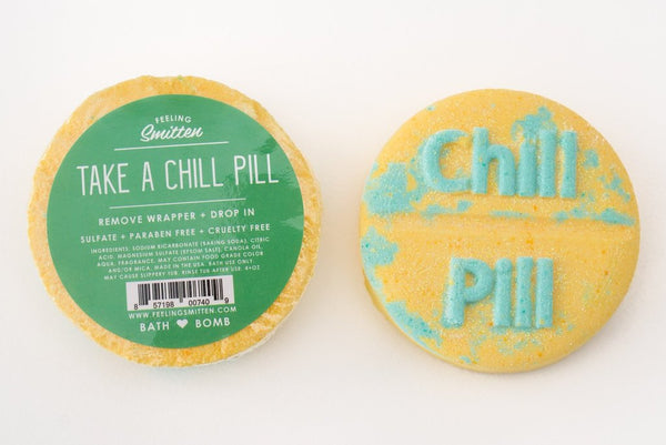 Feeling Smitten - Chill Pill Bath Bomb Limited Edition