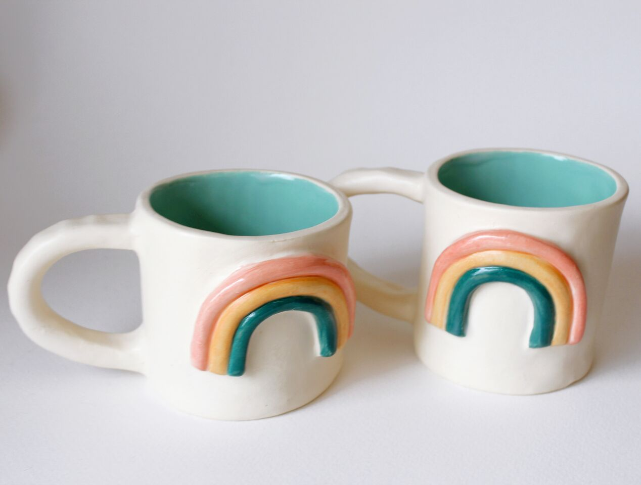 Line & Dot by Laura Jones Martinez - 10oz - Rainbow Mugs