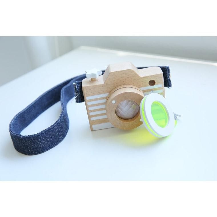 Beech Wood Camera (Yellow)