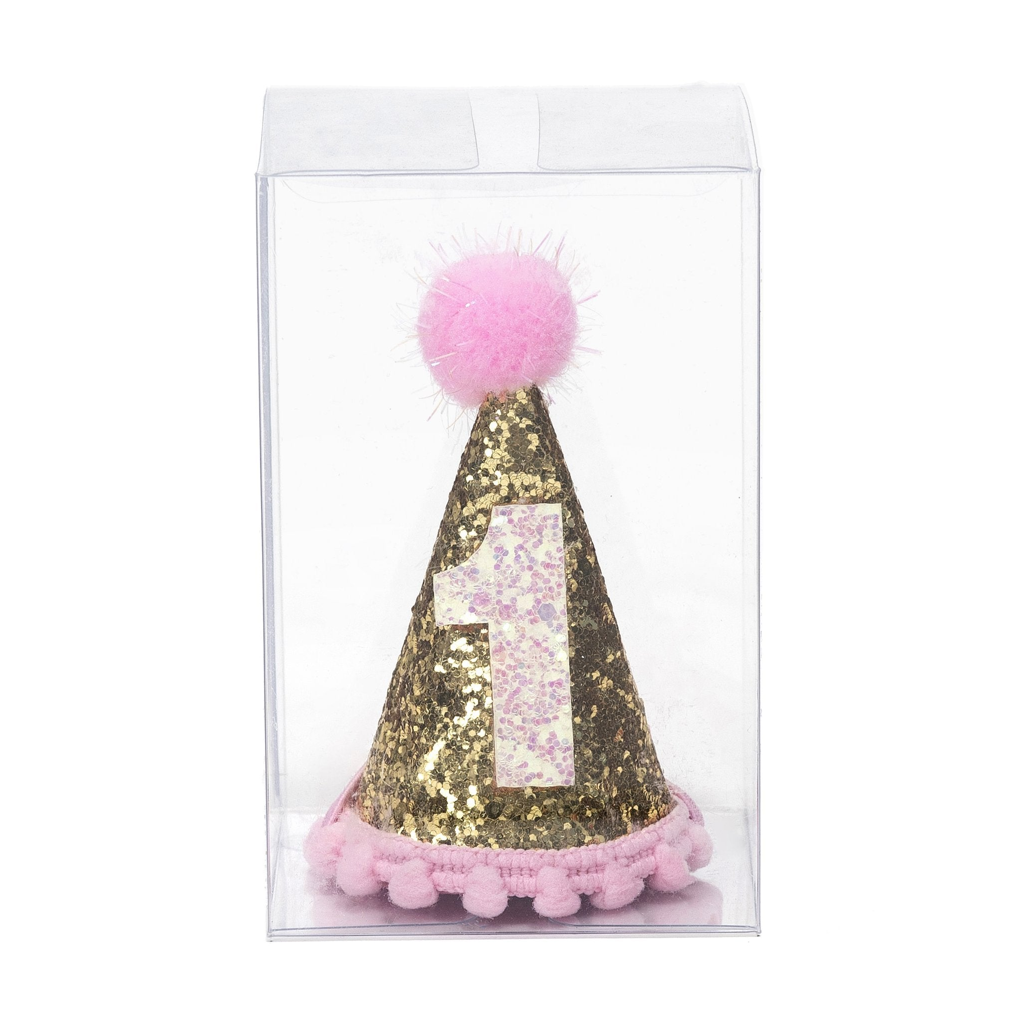 Sweet Wink - Gold #1 Party Hat