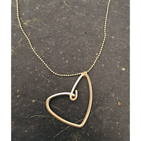 Freeform Heart Necklace
