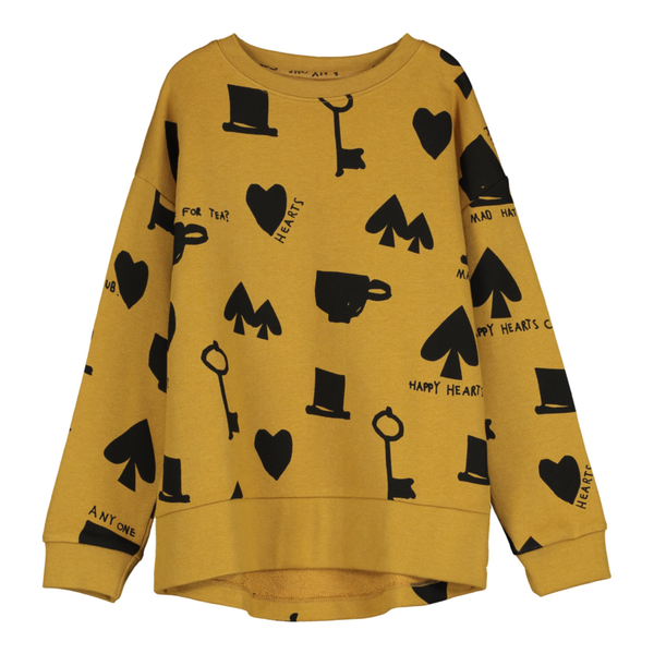 Wonderland Relaxed Fit Sweatshirt - Dark Camel