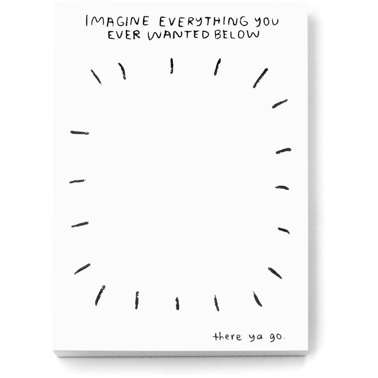 Imagine Everything Notebook