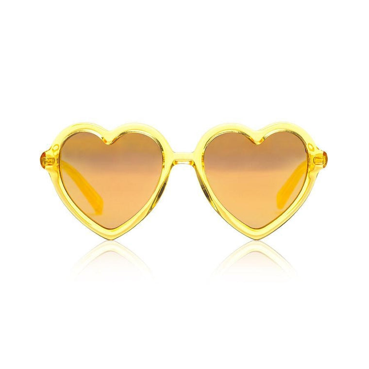 Lola Sunglasses - Yellow Jelly