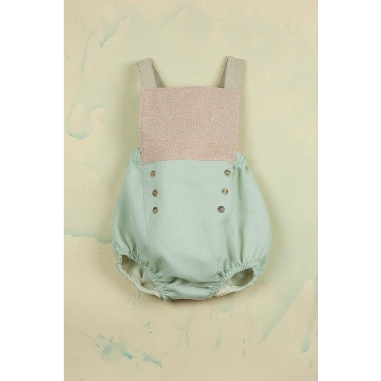 Sailor Dungarees: Pink Lurex