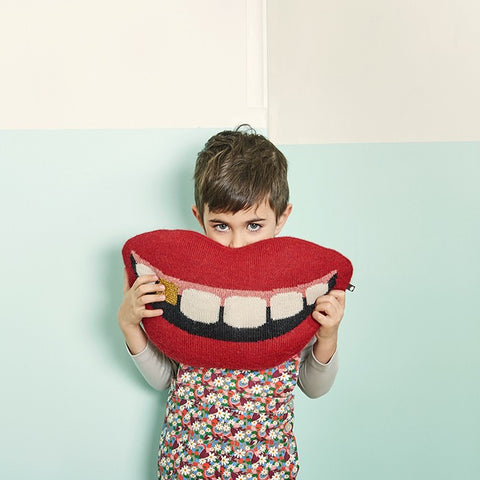 Gold Tooth Pillow