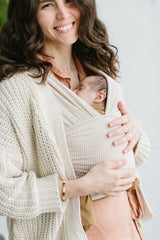 Neutral Stripe - Solly Baby Wrap