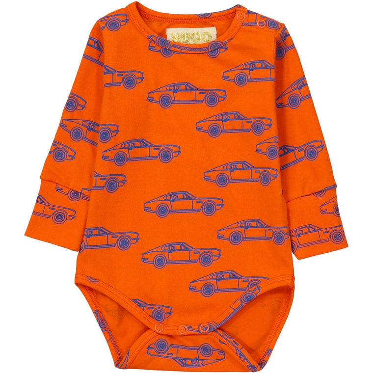 Cars Long Sleeve Onesie