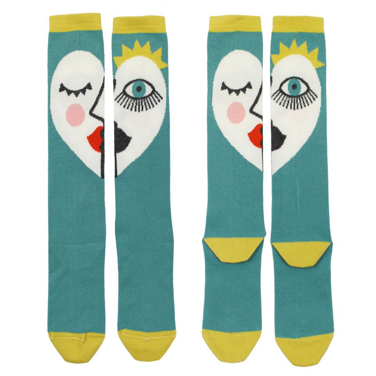 Queenie Knee High Socks