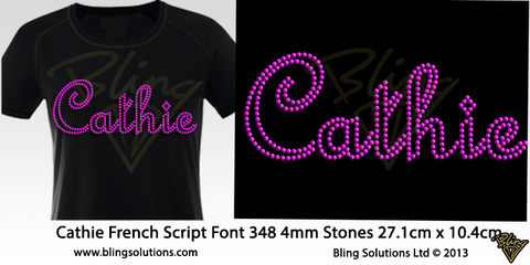 Cathie (French Script)