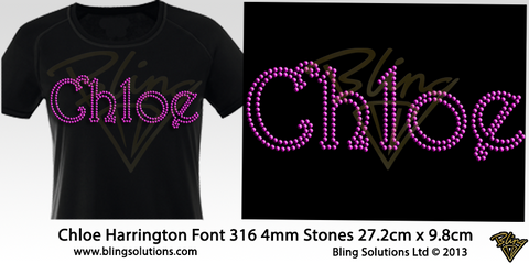 Chloe (Harrington Font)