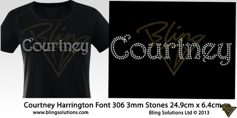 Courtney (Harrington Font)