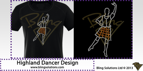 Highland Dancer Design