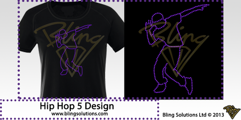 Hip Hop Dancer 5 Design