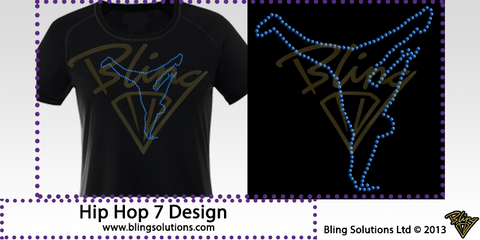 Hip Hop Dancer 7 Design