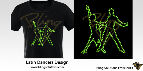 Latin Dancers 2 Design