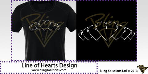 Line of Hearts Design