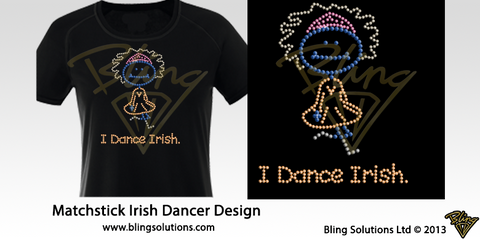 Irish Dancer Matchstick I Dance Irish Design