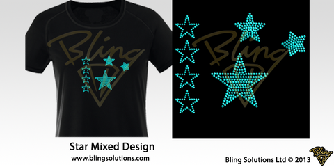 Stars Mixed Design
