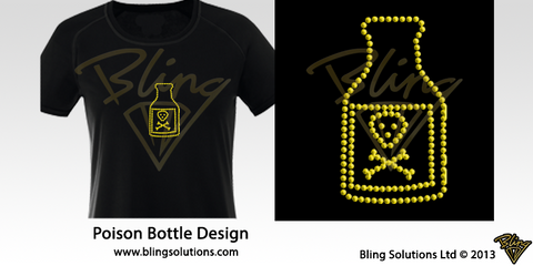 Poison Pirate Bottle Design