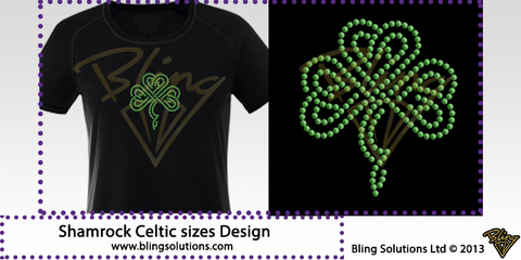 Celtic Shamrock Irish Dancing Design