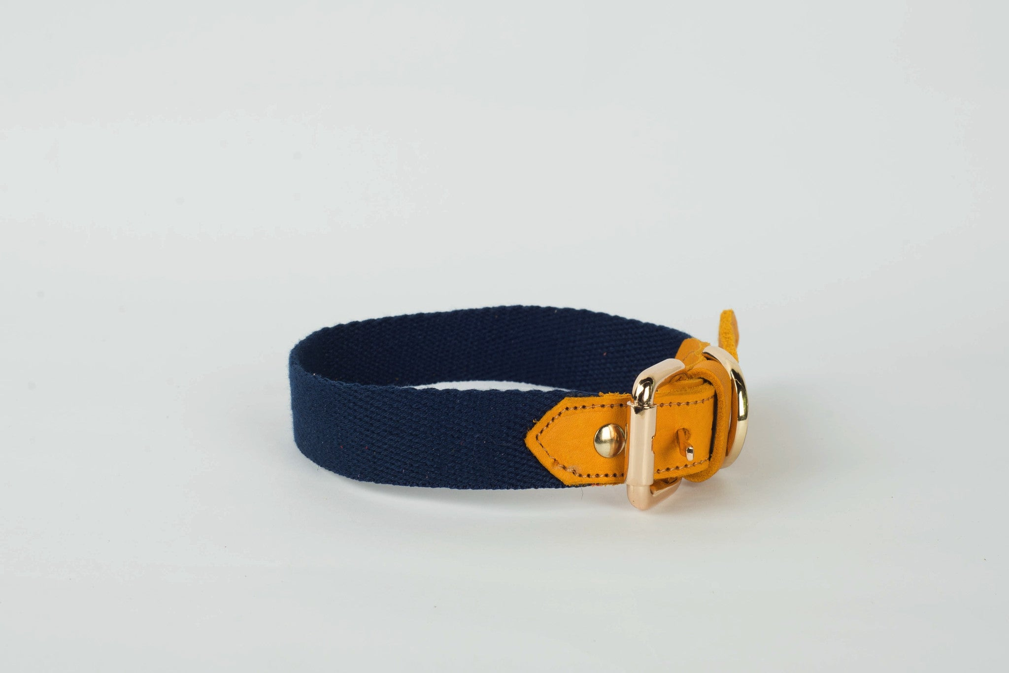 Halo Leather with Canvas Collar