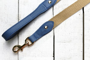 Charlie Leather with Canvas Leash
