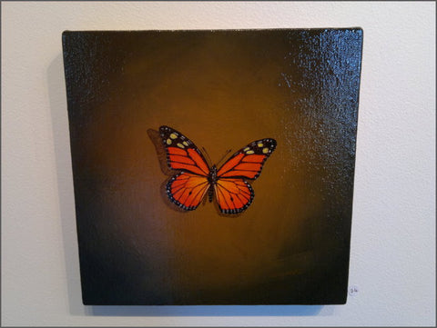 butterfly paiting