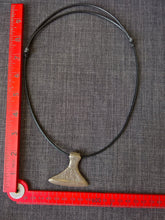 Viking norse large axe pendant necklace hand cast bronze tribal