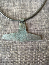 Large Thors hammer mjolnir pendant necklace hand forged iron norse