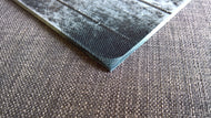 Large Micarta knife scales blanks block denim handmade sheet