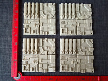 Space Station trench diorama tiles resin scale model kit