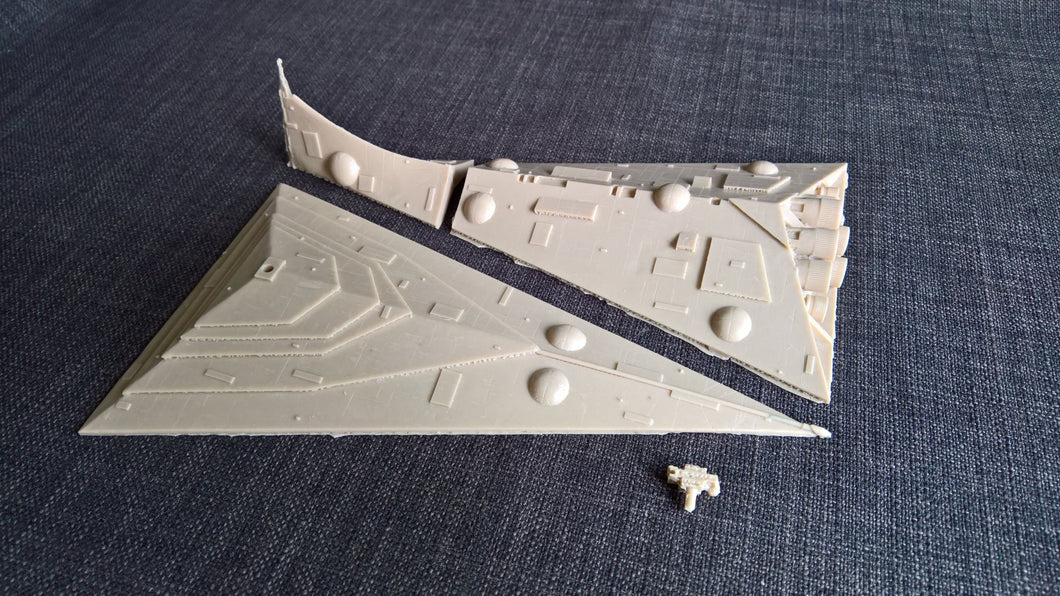 Star Eclipse Class Wars Destroyer Resin Scale kit