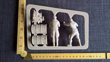 Luftwaffe flight crew resin scale model kit 1/20 WWII Ma.k