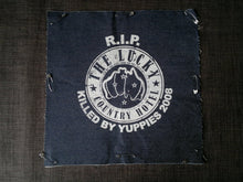 Lucky country hotel back patch punk alternative skinhead