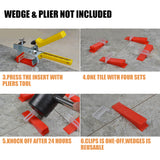 2000 Tile Leveling System Clips Levelling Clips