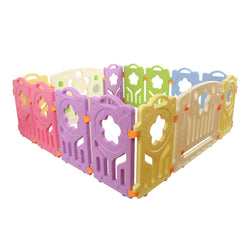 14 Panel Interactive Kids Playpen Guardrail