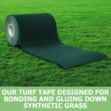 10m x 15cm Self Adhesive Synthetic Gras Tape