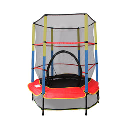 4.5FT Kids Mini Junior Trampoline Lazar Fitness