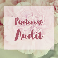 Pinterest Audit