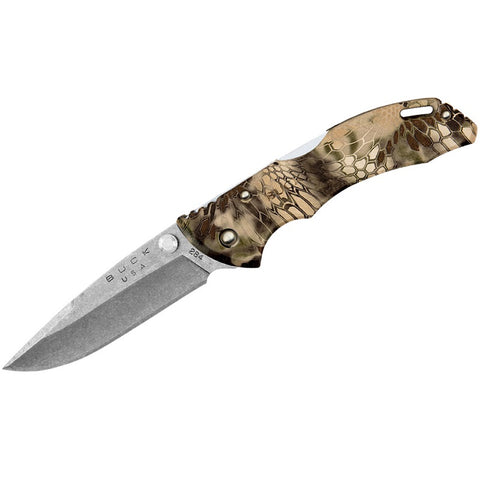 "BUCK BANTAM BBW LOCKBACK KNIFE 2.75"" SATIN, KRYPTEK HIGHLANDER CAMO (0284CMS26)"