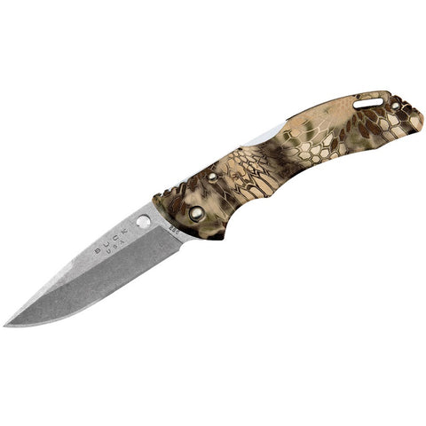 "BUCK BANTAM BLW LOCKBACK KNIFE 3.125"" SATIN, KRYPTEK HIGHLANDER CAMO (0285CMS26)"