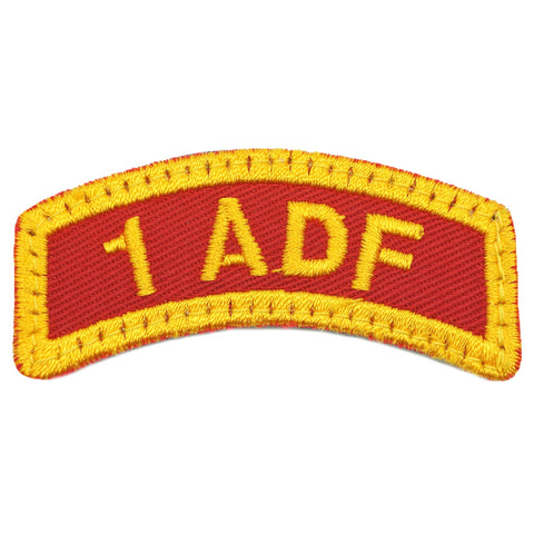 1 ADF TAB - RED ORANGE