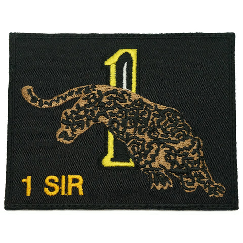 1 SIR LOGO PATCH - BLACK