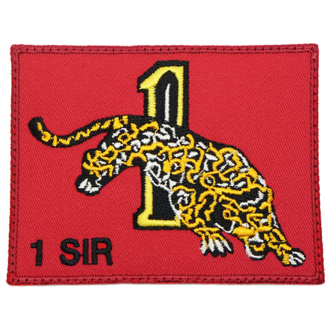 1 SIR LOGO PATCH - RED
