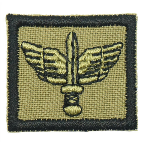 "1"" MINI COMMANDO PATCH - OLIVE GREEN"