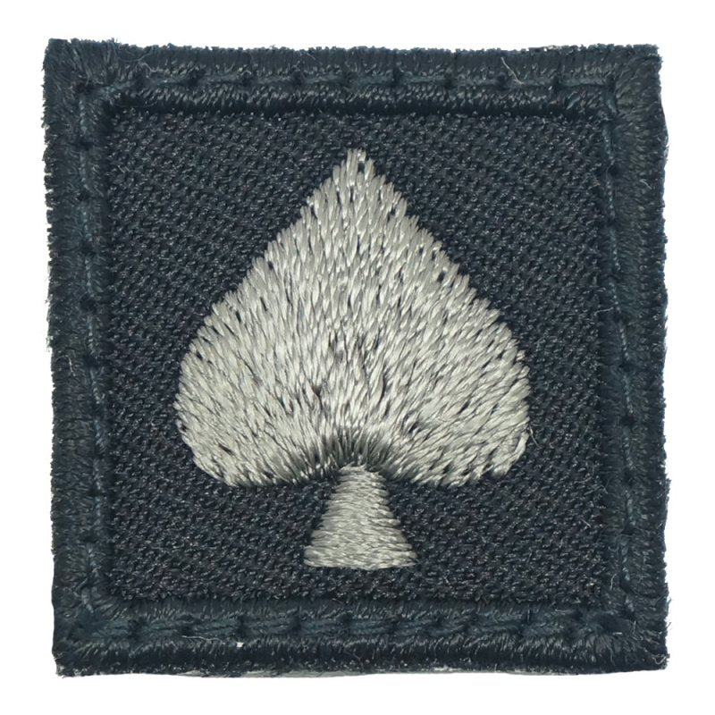 "1"" MINI SPADE PATCH - BLACK FOLIAGE - Hock Gift Shop 